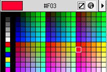 Web цвета