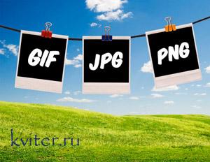 Оптимизация изображений в форматах GIF и PNG.