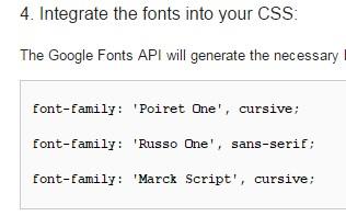 код для описания стиля CSS