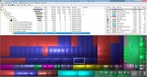 Окно программы WinDirStat